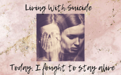 Today I have fought to stay alive – how to live when you are suicidal