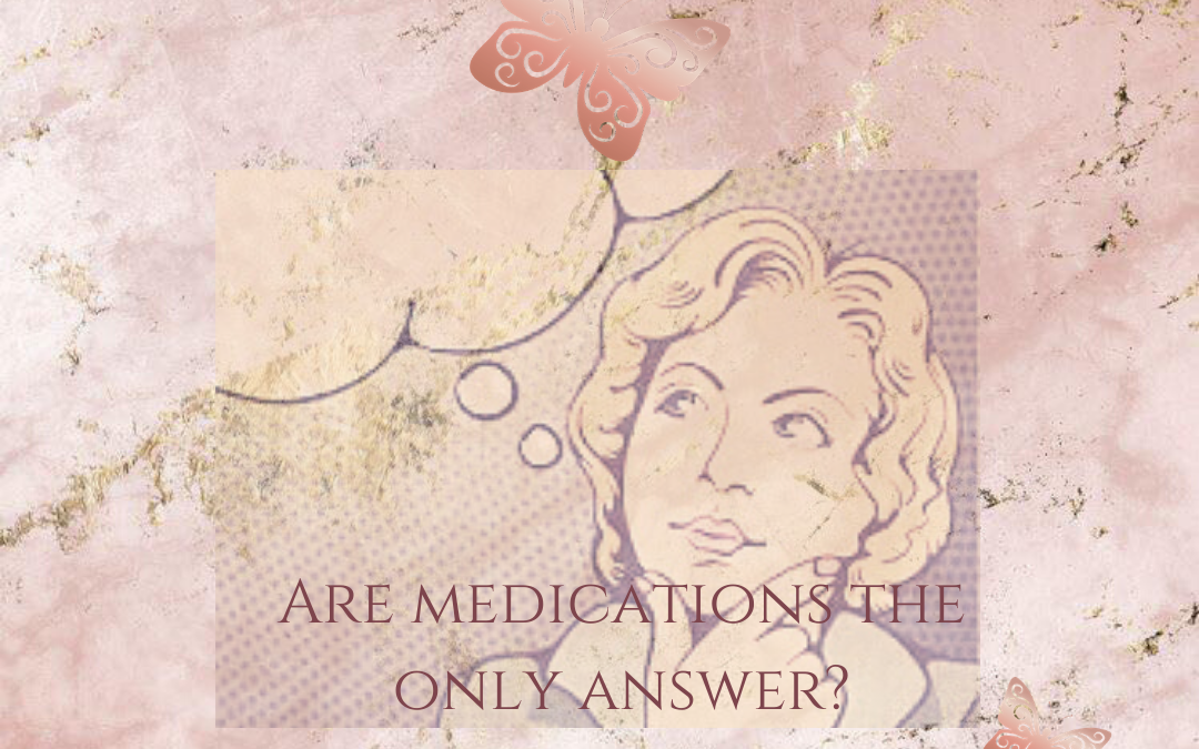 Is medication the only way to help maternal mental illness?